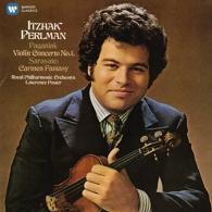 Itzhak Perlman (Ицхак Перлман): Paganini:  Violin Concerto No. 1 /Sarasate: Spanish Fantasy