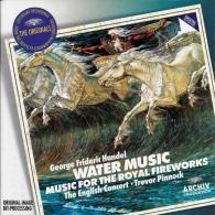 Trevor Pinnock (Тревор Пиннок): Handel: Water Music & Fireworks Music