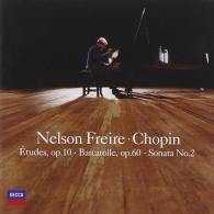 Nelson Freire (Нельсон Фрейре): Chopin: Sonata No.2, Etudes Op.10, Barcarol
