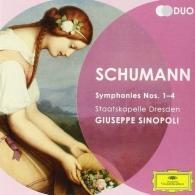 Giuseppe Sinopoli (Джузеппе Синополи): Schumann: Symphonies 1-4