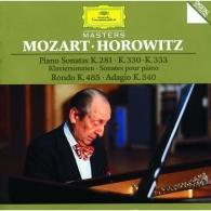 Vladimir Horowitz (Владимир Самойлович Горовиц): Mozart: Piano Sonatas K.281, K.330 & K.333; Rondo K.485; Adagio K.540