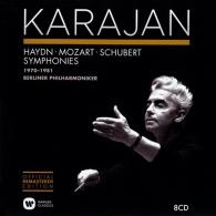 Herbert von Karajan (Герберт фон Караян): Haydn, Mozart, Schubert - Symphonies 1970-1981