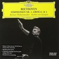 Herbert von Karajan (Герберт фон Караян): Beethoven: Symphonies Nos.3  & 4