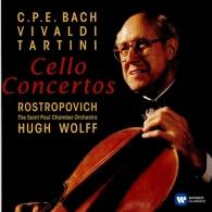 Мстислав Ростропович: Baroque Cello Concertos