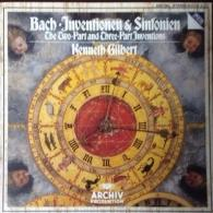 Kenneth Gilbert: Bach: 15 Two-Part Inventions