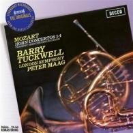 Barry Tuckwell (Барри Такуэлл): Mozart: The Horn Concertos