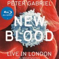 Peter Gabriel (Питер Гэбриэл): New Blood: Live In London In 3 Dimensions