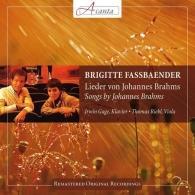 Brigitte Fassbaender (Бригитта Фассбендер): Songs By Johannes Brahms