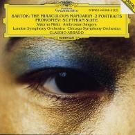 Claudio Abbado (Клаудио Аббадо): Bartok: The Miraculous Mandarin; Two Portraits Op.5