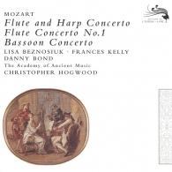 Christopher Hogwood (Кристофер Хогвуд): Mozart: Flute & Harp Concerto
