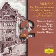 Claudio Abbado (Клаудио Аббадо): Brahms: The Piano Concertos; Tragic Overture