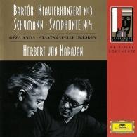 Herbert von Karajan (Герберт фон Караян): Bartok: Piano Concerto No.3/ Schumann: Symphony No.4