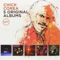 Chick Corea (Чик Кориа): 5 Original Albums: Verve