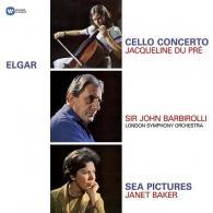 Jacqueline Du Pre (Жаклин Дю Пре): Elgar: Cello Concerto, Sea Pictures