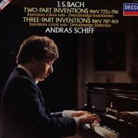 Andras Schiff (Андраш Шифф): Bach: Two And Three Part Inventions