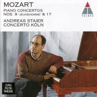 Andreas Staier (Андреас Штайер): Piano Concertos Nos 9 & 17