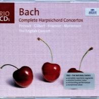 Trevor Pinnock (Тревор Пиннок): Bach: The Harpsichord Concertos