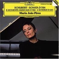 Maria Joao Pires (Мария Жуан Пиреш): Schubert: Sonata D784; 6 Moments Musicaux D780; 2