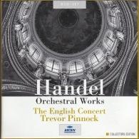 Trevor Pinnock (Тревор Пиннок): Handel: Orchestral Works