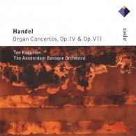 Ton Koopman (Тон Копман): Organ Concertos Op.4 & Op.7