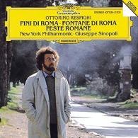 Giuseppe Sinopoli (Джузеппе Синополи): Respighi: Pini Di Roma; Fontane Di Roma; Feste Romane