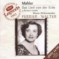 Mahler: Das Lied von der Erde; 3 R?ckert Lieder