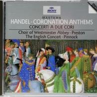 Trevor Pinnock (Тревор Пиннок): Handel: Coronation Anthems; Concerti a due cori