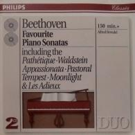 Alfred Brendel (Альфред Брендель): Beethoven: Favourite Piano Sonatas