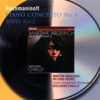 Martha Argerich (Марта Аргерих): Rachmaninov: Piano Conc.3