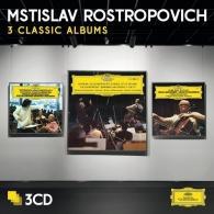 Mstislav Rostropovich (Мстислав Ростропович): 3 Classic Albums