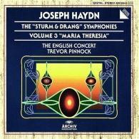 "Trevor Pinnock (Тревор Пиннок): Haydn: The ""Sturm & Drang"" Symphonies - ""Maria Theresia"""