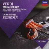 Sir Georg Solti (Георг Шолти): Verdi: Opera Choruses