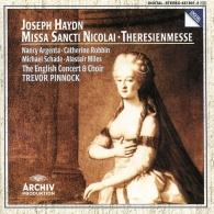 Trevor Pinnock (Тревор Пиннок): Haydn: Missa Sancti Nicolai; Theresienmesse