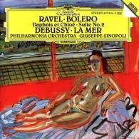 Giuseppe Sinopoli (Джузеппе Синополи): Ravel: Bolero; Daphnis Et Chloe - Suite No.2/ Debussy: La Mer