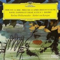 Herbert von Karajan (Герберт фон Караян): Debussy:La Mer;Prelude/Ravel:Daphnis&Chloe;Bolero
