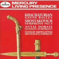 Antal Dorati (Антал Дорати): Khachaturian: Gayaneh Ballet Music/ Shostakovich: Symphony No. 5