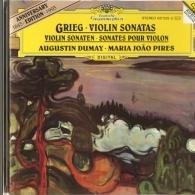 Augustin Dumay (Аугустин Думай): Grieg: Violin Sonatas Opp. 8, 13 & 45