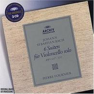 Pierre Fournier (Пьер Фурнье): Bach: 6 Cello Suites BWV 1007, 1008, 1009, 1010, 1