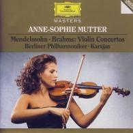 Anne-Sophie Mutter (Анне-Софи Муттер): Mendelssohn / Brahms: Violin Concertos