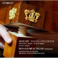 Ronald Brautigam (Рональд Браутигам): Piano Conc. Vol. 9 Concertos Nos 8, 11 & 13