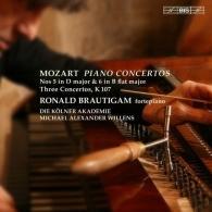 Ronald Brautigam (Рональд Браутигам): Piano Concertos Nos 5 & 6. Three Concertos After J.?C. Bach