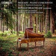Ronald Brautigam (Рональд Браутигам): Mozart: Piano Concertos Nos. 1-4 'Pasticcio Concertos'