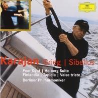 Herbert von Karajan (Герберт фон Караян): Grieg: Peer Gynt Suites; Holbert Suite / Sibelius: