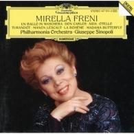 Mirella Freni (Мирелла Френи): Don Carlos; Aida; Otello; Turandot; La Boheme; Madama Butterfly