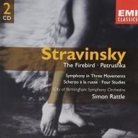 Simon Rattle (Саймон Рэттл): Firebird (1910)/Petrushka (1947)