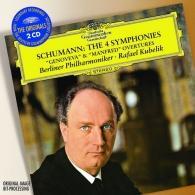 "Rafael Kubelik (Рафаэль Кубелик): Schumann: The 4 Syms; Overtures Opp.81 ""Genoveva"""