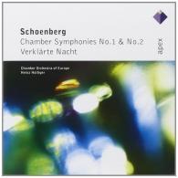 Heinz Holliger (Хайнц Холлигер): Chamber Symphonies Nos 1, 2 & Verklarte Nacht