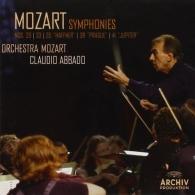 Claudio Abbado (Клаудио Аббадо): Mozart: Symfhonies Nos.29, 33, 35, 38, 41
