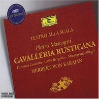 Herbert von Karajan (Герберт фон Караян): Mascagni: Cavalleria Rusticana
