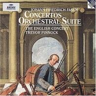 Trevor Pinnock (Тревор Пиннок): J.F. Fasch - Concerto A 8 In D